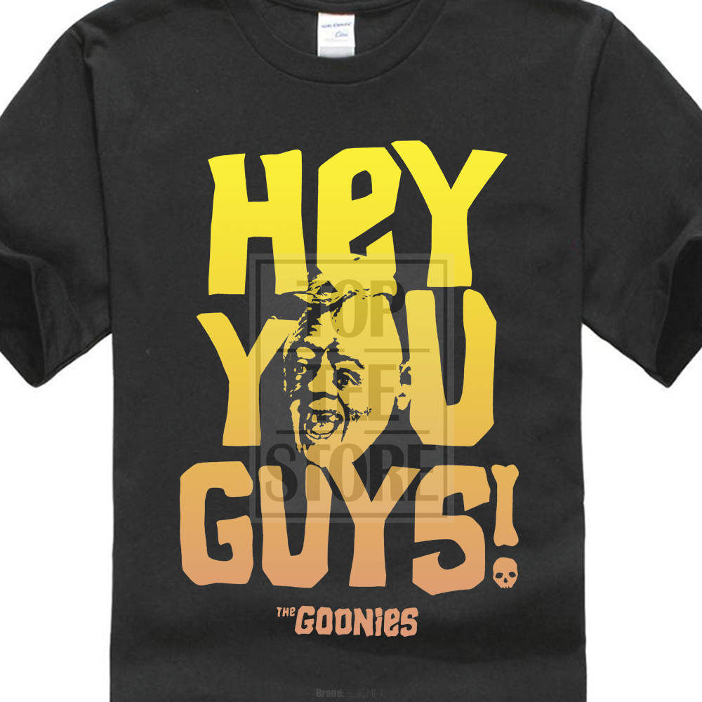 d144e3344 Official The Goonies Sloth Hey You Guys Distressed Retro T Shirt 80S Movie