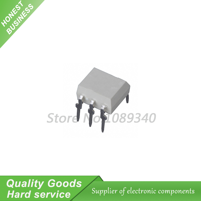 10pcs/lot <font><b>MOC3063</b></font> <font><b>MOC3063</b></font>-M DIP-6 Driver Output Optocoupler <font><b>ICs</b></font> In Stock image