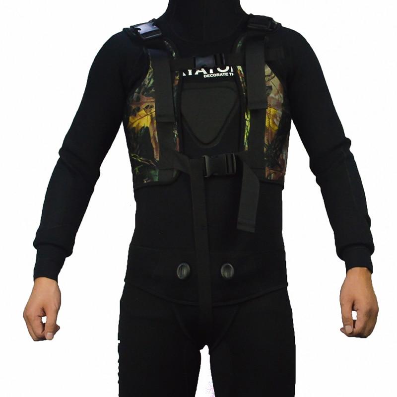 Sargan cressi mares spearfishing weight vest wetsuit drop vest load vest scuba diving underwater hunting03