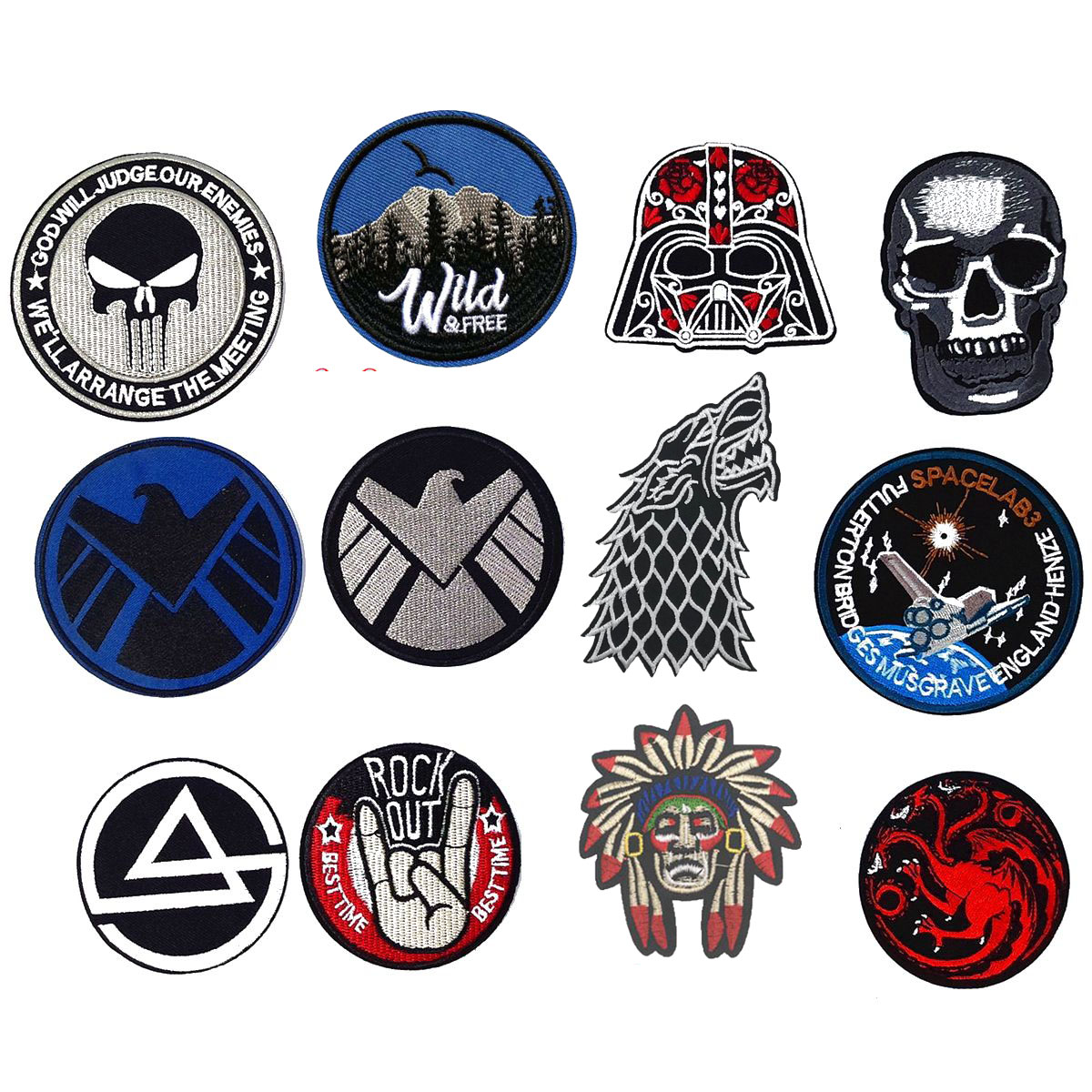 cheap iron on patches uk