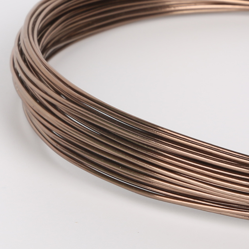 10m 5m 3m roll 1mm 2mm diameter brown aluminum wire for metal crafts necklace. Black Bedroom Furniture Sets. Home Design Ideas