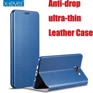 Image 1 - 2017 Luxury X Level High quality Classic Leather Case For Samsung Galaxy S8 Plus A3 A5 A7 J2 J3 J5 J7 2016 S7 Edge J5 J7 Prime