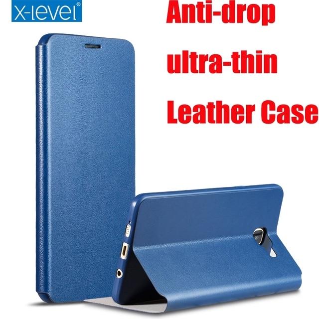 2017 Luxury X Level High quality Classic Leather Case For Samsung Galaxy S8 Plus A3 A5 A7 J2 J3 J5 J7 2016 S7 Edge J5 J7 Prime