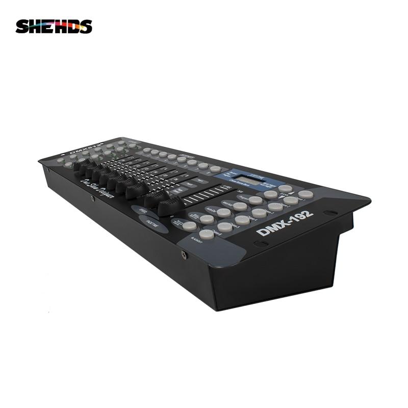 Livraison gratuite nouveau 192 DMX contrôleur DJ équipement DMX 512 Console éclairage de scène pour LED Par projecteurs à tête mobile contrôleur DJ - 4