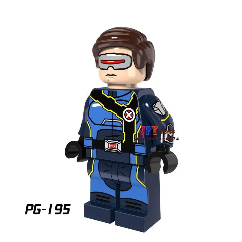 Single star wars super heroes Cyclops Havok X men building blocks models bricks hobby toys for children gift brinquedos menino