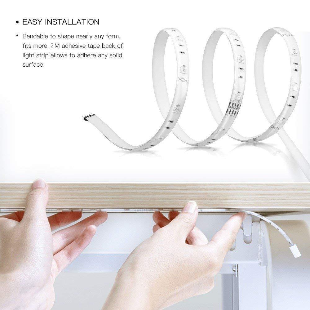 Original Xiaomi Yeelight RGB Banda de luz inteligente Smart Home - Electrónica inteligente - foto 3