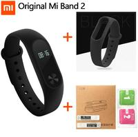 100 Original Xiaomi Mi Band 2 Smart Wristband Bracelet Miband2 Smart Heart Rate Fitness Touchpad OLED