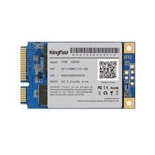 Kingfast f6m alta calidad interno sata ii/iii mlc msata ssd de 128 gb de estado sólido de unidad de disco duro hd para el ordenador portátil/notebook ultrabook