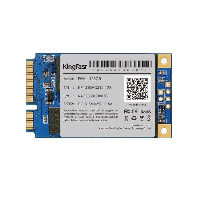 Kingfast f6m alta qualidade interno sata ii/iii mlc msata ssd de 128 gb solid state hard unidade de disco hd para laptop/notebook ultrabook