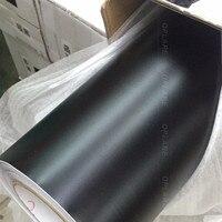 Matt Black Vinyl Wrap Zelfklevende Air Release Bubble Gratis Auto Styling Membraan Sticker gratis verzending