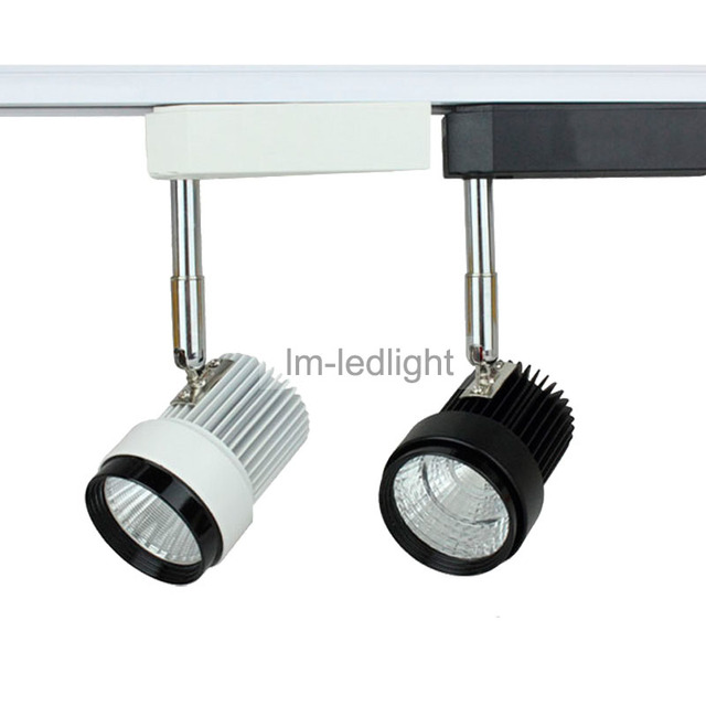 Dimmable track light 7w in white black track head bridgelux warm dimmable track light 7w in white black track head bridgelux warm neture cold white aloadofball Images