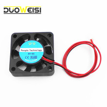 DuoWeiSi 3D Printer Parts 12V DC 40mm Cooling Fan For 3D Printer RAMPS Extruder RepRap Prusa