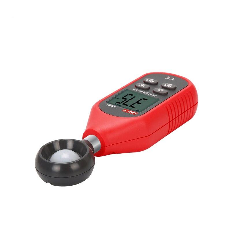 UNI-T UT383 Digitale Luxmeter Meter Lux/FC Meter Luminometer Photometer 200,000 Lux Mini Handheld Luxmeter Illuminometer