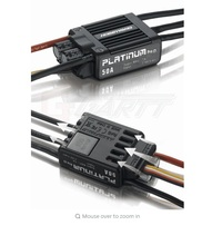 Hobbywing Platinum 50A V3 Brushless ESC For 450 450L RC Helicopter 50A ESC