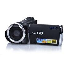 Stokta 2017 En Çok Satan Yüksek Kalite Full HD 1080 P 2.4 inç 4X Akıllı Zoom Dijital Video Kamera Dijital Kamera Ücretsiz Kargo