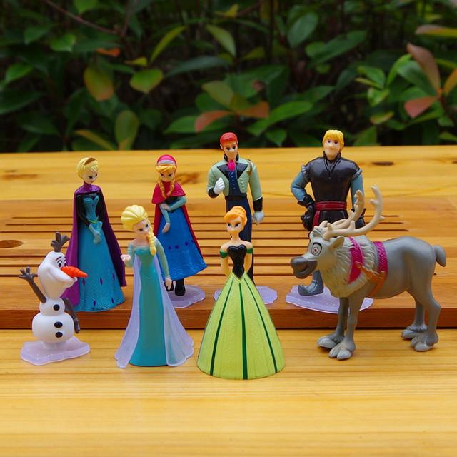 Disney Frozen Figures  8pcs/Set 5-9cm