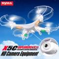 Syma x5c x5c-12.4g drone rc fpv quadcopter drone con cámara de 2mp cámara 2.4G 4CH 6-Axis Gyro Helicóptero de Juguete para Niños Gratis gratis
