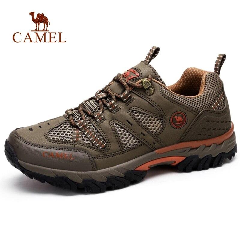 CHAMEAU Hommes En Plein Air chaussures de randonnée respirantes Non-glisser Durable En Plein Air Randonnée Trekking Trail Maille Chaussures