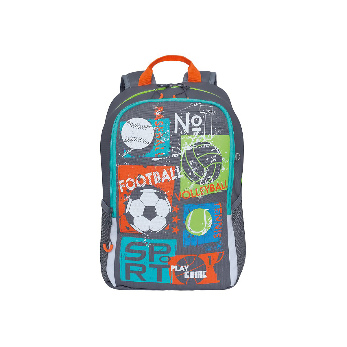 GRIZZLY School Bags 11046784 Schoolbag Backpack Orthopedic Bag For Boy And Girl Animals MTpromo