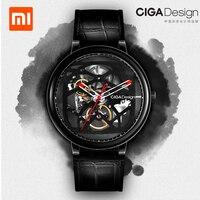 Xiaomi CIGA дизайн серии механические часы модные роскошные часы для мужчин для женщин iF дизайн золото награда дизайнерский бренд