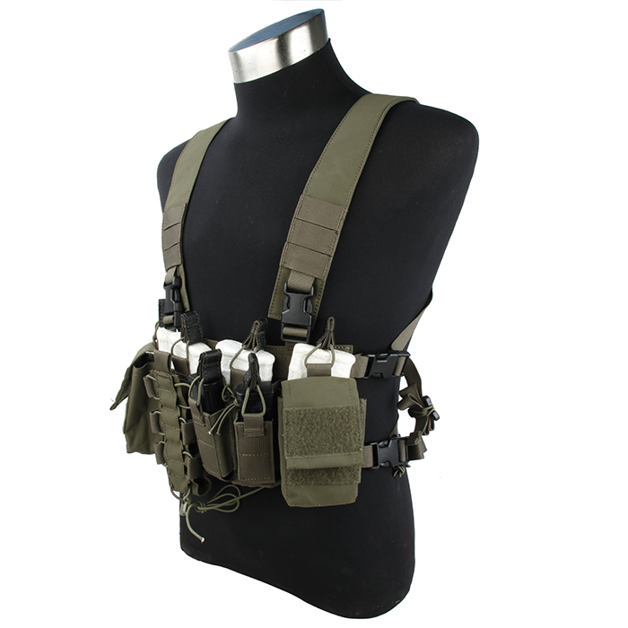 2745-WG Hunting Military Tactical Body Waistcoat CS Outdoor Equipment 556 chest hanging outdoor tactical vest