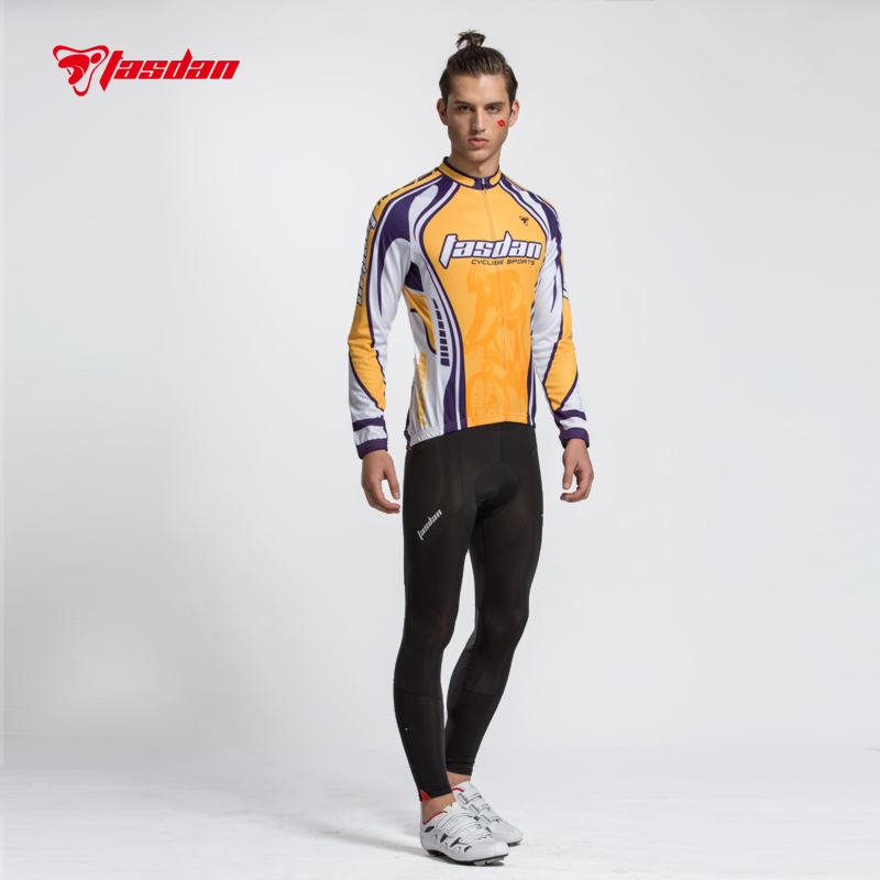 ФОТО Tasdan Cycling Wear Cycling Clothes Cycling Jersey Sets Men Cycling Pants Long Sleeve Jersey
