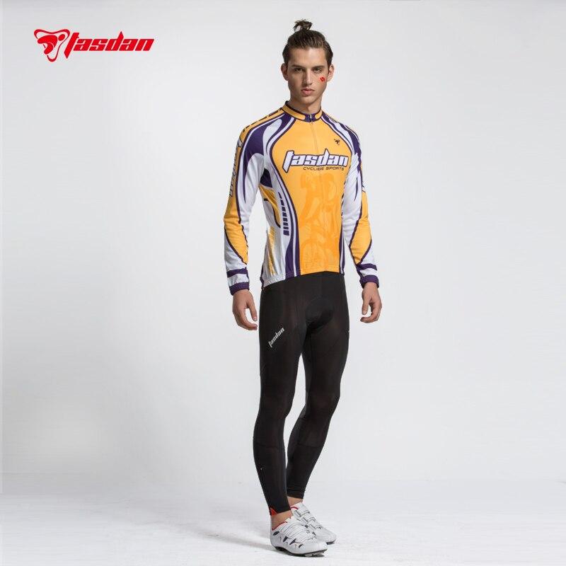 d57c248bff0b Tasdan ciclismo ropa ciclismo Jersey establece hombres ciclismo pantalones  Jersey de manga larga