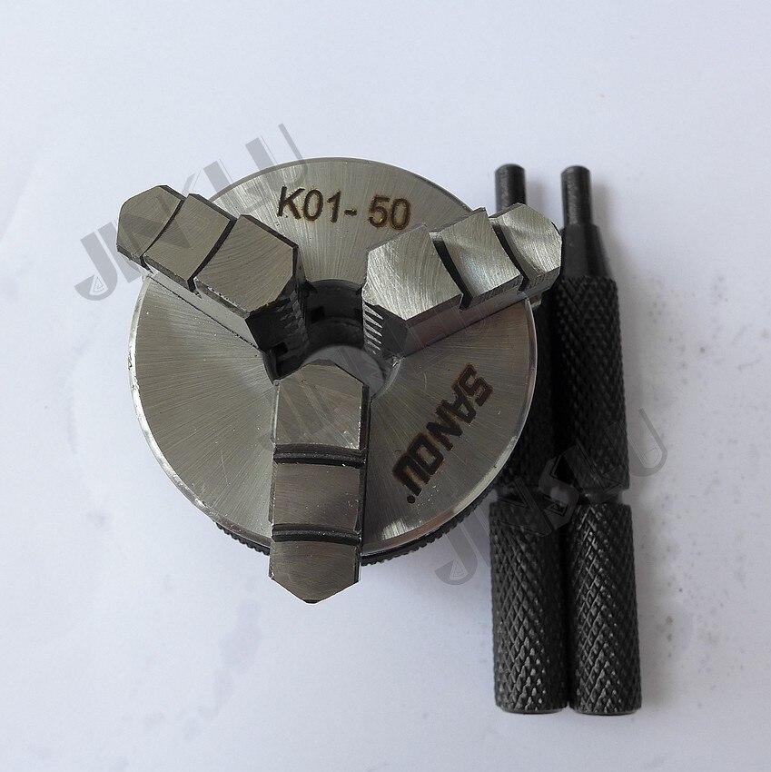 SANOU 3 jaws lathe chuck mini chuck  K01-50 M14*1 free shipping sanou brand lathe chuck k01 50 mini 3 jaws chuck m14 1