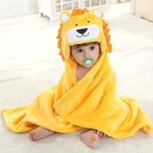 Newborn Hooded Towel Baby Bath for Blanket Kids Poncho Stuff Babies Swaddle