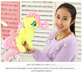 30cm cartoon yellow horse Fluttershy doll plush toy , birthday gift t4339