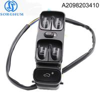 New A2098203410 Power Control Window Switch For MERCEDES C CLASS W203 C180 C200 C220 A2038200110 2038210679 A2038210679