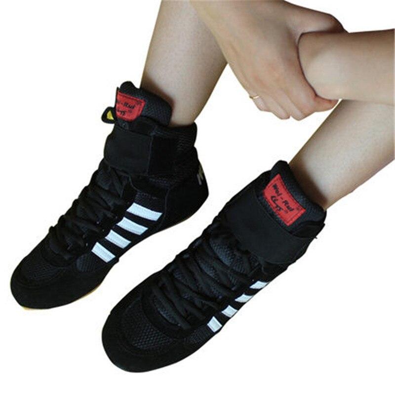 Gute Qualität Boxing Schuhe Für Männer Frauen Wrestling Schuhe Ausbildung Sneaker Professionelle Grappling Wettbewerb Sport Boxen Schuhe Sport & Unterhaltung Ringerschuhe
