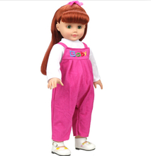 Free shipping hot 2014 new style Popular 18 American girl doll clothes dress b848