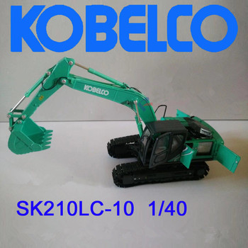 Collectible Diecast Toy Model Gift 1:40 Kobelco SK210LC-10 Hydraulic Excavator Engineering Machinery Toy for Decoration