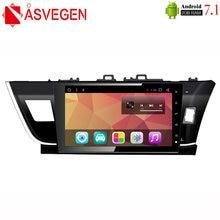 Asvegen автомобильный стерео радиоплеер для toyota corolla 2014