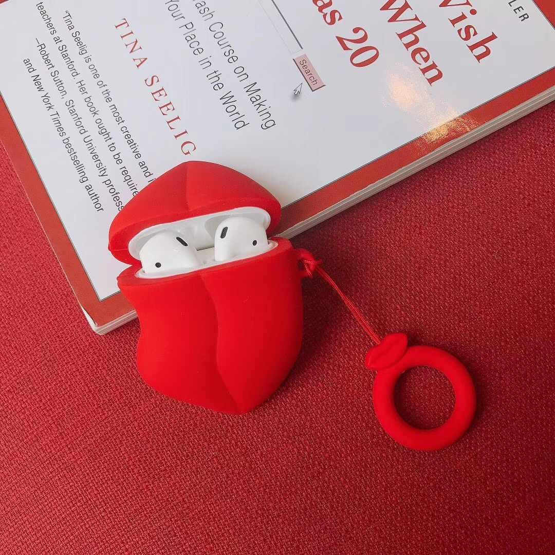 Bluetooth ワイヤレスイヤホンため Airpods2 ため Airpods ケースシリコーンキーホルダーケース保護カバー用ポッド充電器ボックス