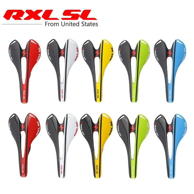 RXL SL Bicycle Saddle Mountain Bikes Carbon Saddle Road 270*143mm Mtb Saddle 3K/UD Ultralight Bicycle Saddles стоимость
