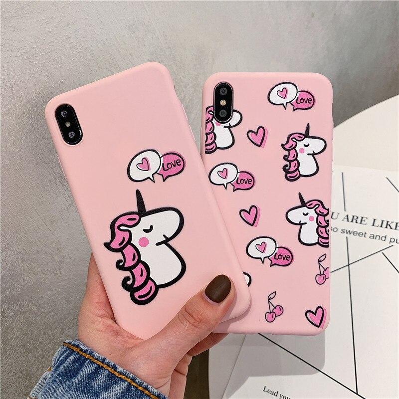 Cute Unicorn iPhone Case - Fashion