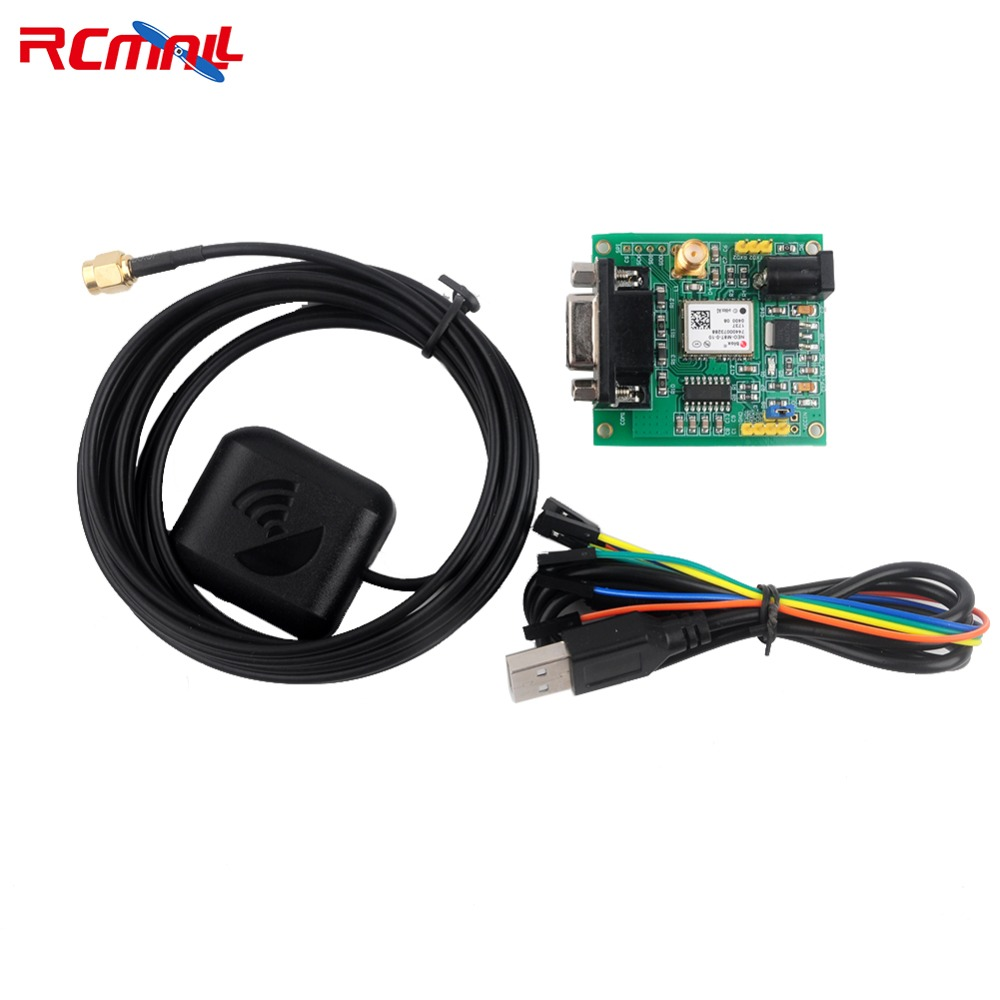 RCmall NEO-M8T GPS Module Glonass GLNS RS232 Port Development Board Antenna FZ3090 sim868 development board 3mgps antenna glue stick antenna gsm gprs bluetooth gps module match stm32 51 procedures gps bd glo lbs