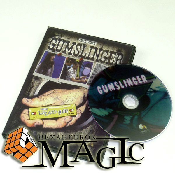 GumSlinger by Chris Webb and Wizard FX Productions /close up CARD magic  trick / wholesale-in Magic Tricks from Toys & Hobbies on Aliexpress com |