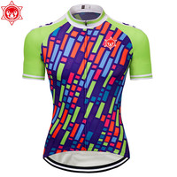 2018 Men's Cycling Jersey Short Sleeve Pro Bicycle Equipment Clothing Custom T Shirts Bicycle MTB Summer Ropa Ciclismo ropa cicl