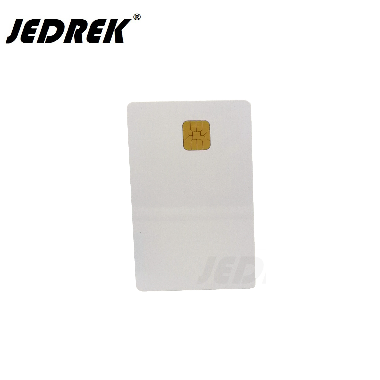SLE 4428 PVC Blank Card Contact IC Smart Card