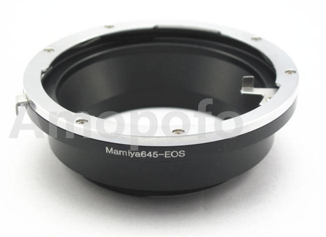 Adaptateur Amopofo M645-EF, objectif Mamiya 645 pour appareil photo Canon EOS EF60D 5D II 600D 7D 5D III 6D 70D