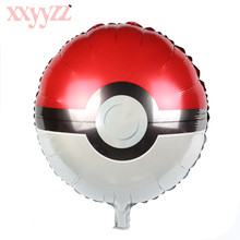 XXYYZZ Globos Pokemon Foil Balloons Inflatable Toys Helium Balloon Kids Classic Toys Happy Birthday Balloons Party Supplies 2 стоимость