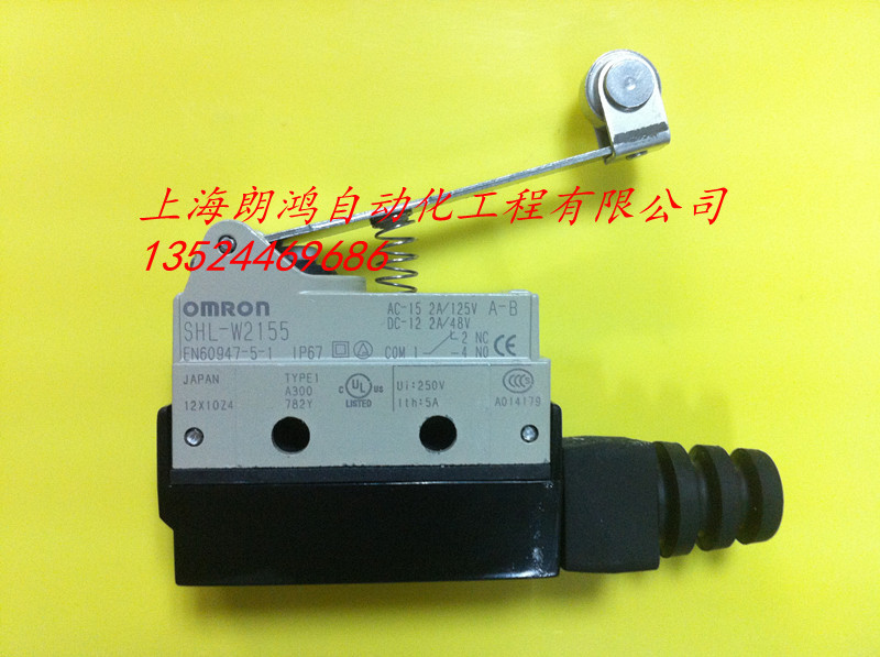 SHL-W2155  Micro Switch OMRON Limit Switch цена 2016