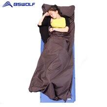 Сверхлегкий Открытый спальный мешок лайнер Кемпинг путешествия здоровый сон мешок полиэстер Pongee отель анти-грязные спальные мешки