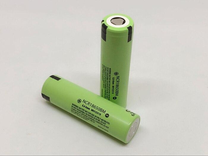 2 pcs/lot nouveau Original Panasonic 3.7V 3200mAh NCR18650BM 18650 10A courant outil batterie Lithium Batteries