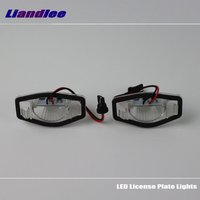 Liandlee For Honda Fit Hatchback / Fit 2002~2011 / LED Car License Plate Light / Number Frame Lamp / High Quality LED Lights