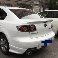 Utilizzare per mazda 3 spoiler 2006-2013 mazda 3 spoiler di Alta Qualità ABS Materiale Car Rear Ala Primer di Colore per mazda 3 2006-2013