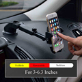 Стайлинга автомобилей Авто Держатель Телефона сосать Настольный Прибор Для Iphone 7 Samsung Xiaomi Redmi Регулируемое Расстояние Универсальный Для Телефона